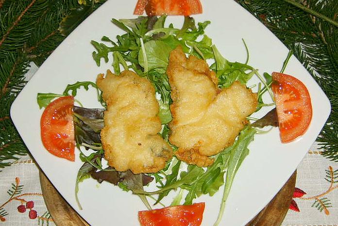 Frittelle liguri con baccalà frisceu