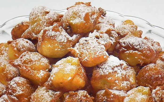 Frittelle dolci liguri