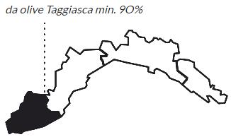 Mappa DOP Riviera dei Fiori