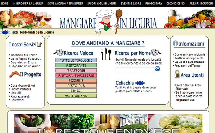MangiareinLiguria.it